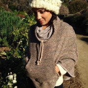 Pullover Poncho debuts at the Arboretum