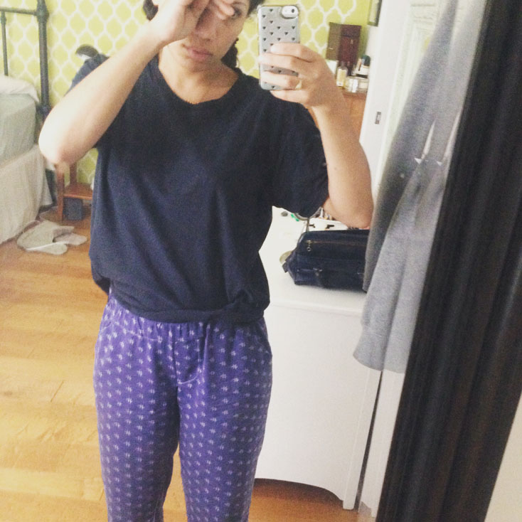 Day 27: Carolyn Pajama bottoms by Closet Case Files