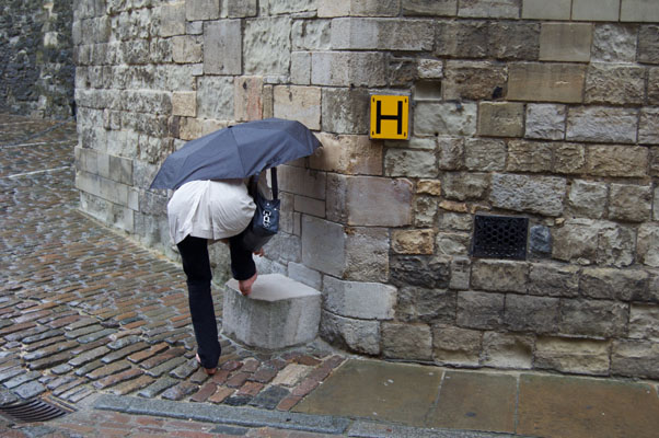 I LOVE that I actually have a photo of me at the Tower of London stressing over my shoes LOL