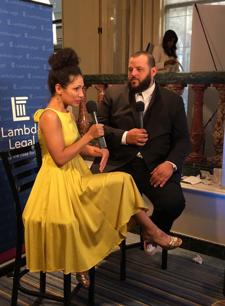 Got to meet Daniel Franzese at Lamda Legal Awards, who I love so much!